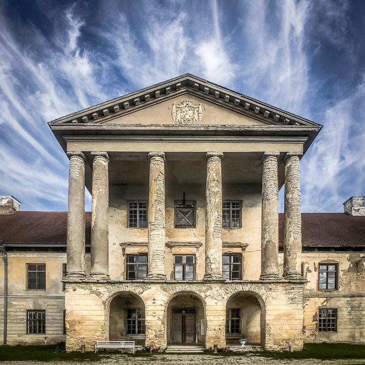 Kolga Manor, Estonia, from the outside