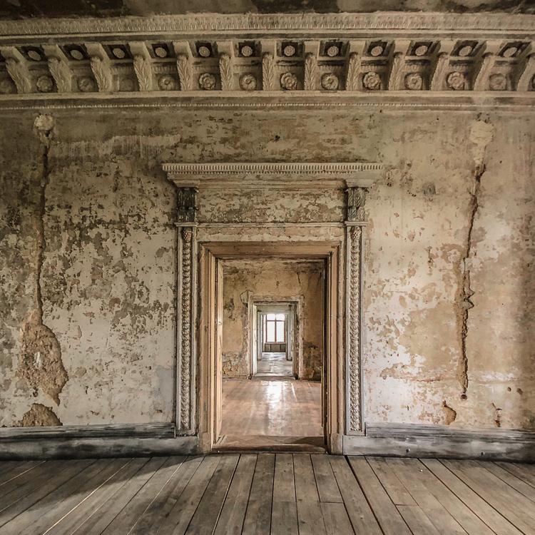 View from the main room of Kolga Manor