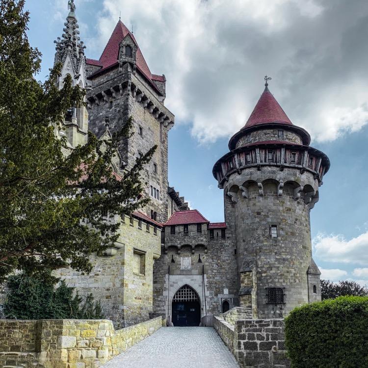 Castle Gate at Kreuzenstein shot on Moment