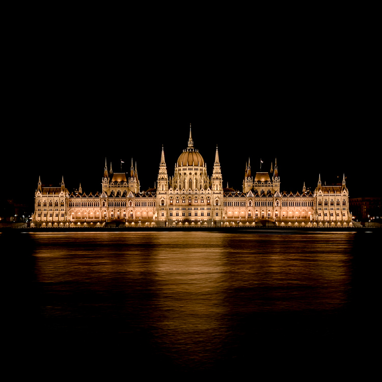 Parliament in Budapest shot on iPhone using Slow Shutter Cam App