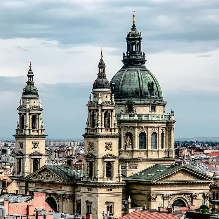 St. Stephan's Basilica, Budapest, Hungary