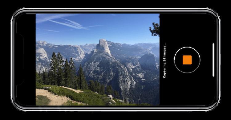 Hydra App takes up to 100 photos