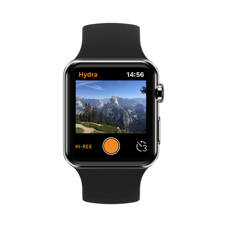 Hydra App on Apple Watch