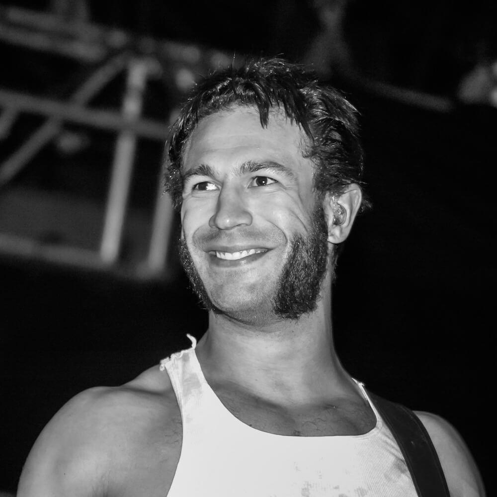 Closeup of Jared Hasselhoff
