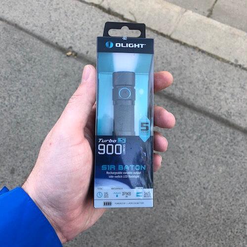 Olight S1R Baton I Packaging
