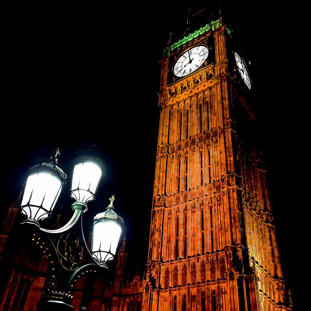 Night Photography with iPhone: Big Ben