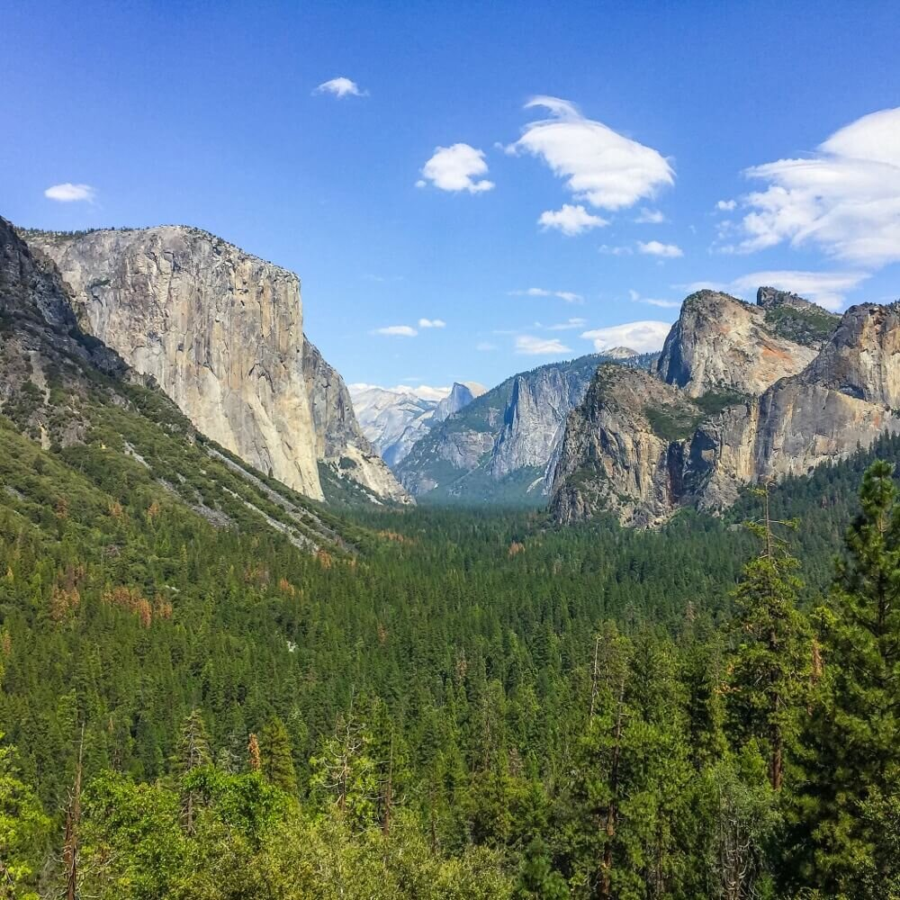 Tunnel view without Moment wide angle lens