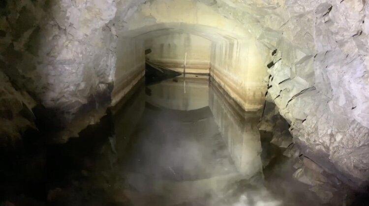 Olight S30R III in an abandoned bunker (2)