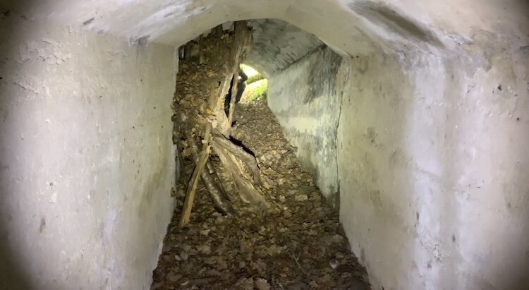 Olight S30R III in an abandoned bunker (1)