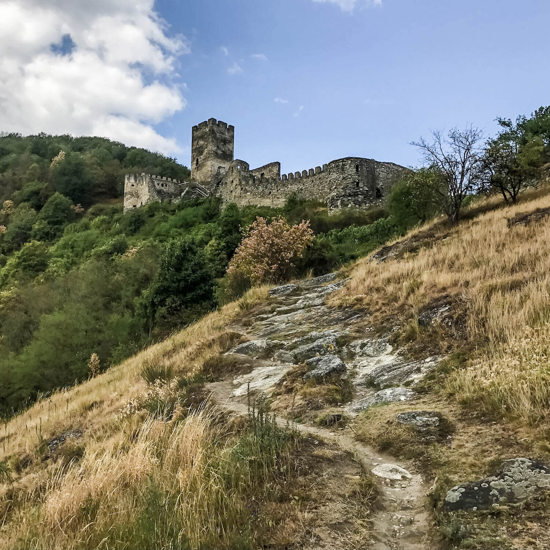 Castle Ruin Hinterhaus