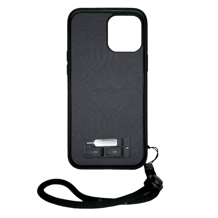 Mous Limitless 3.0 iPhone Case with wrist strap, sim-tray pin and sim notches