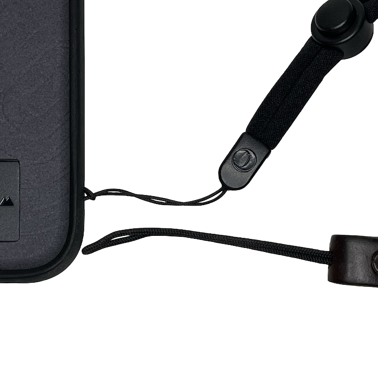Use a wrist strap with a thin loop