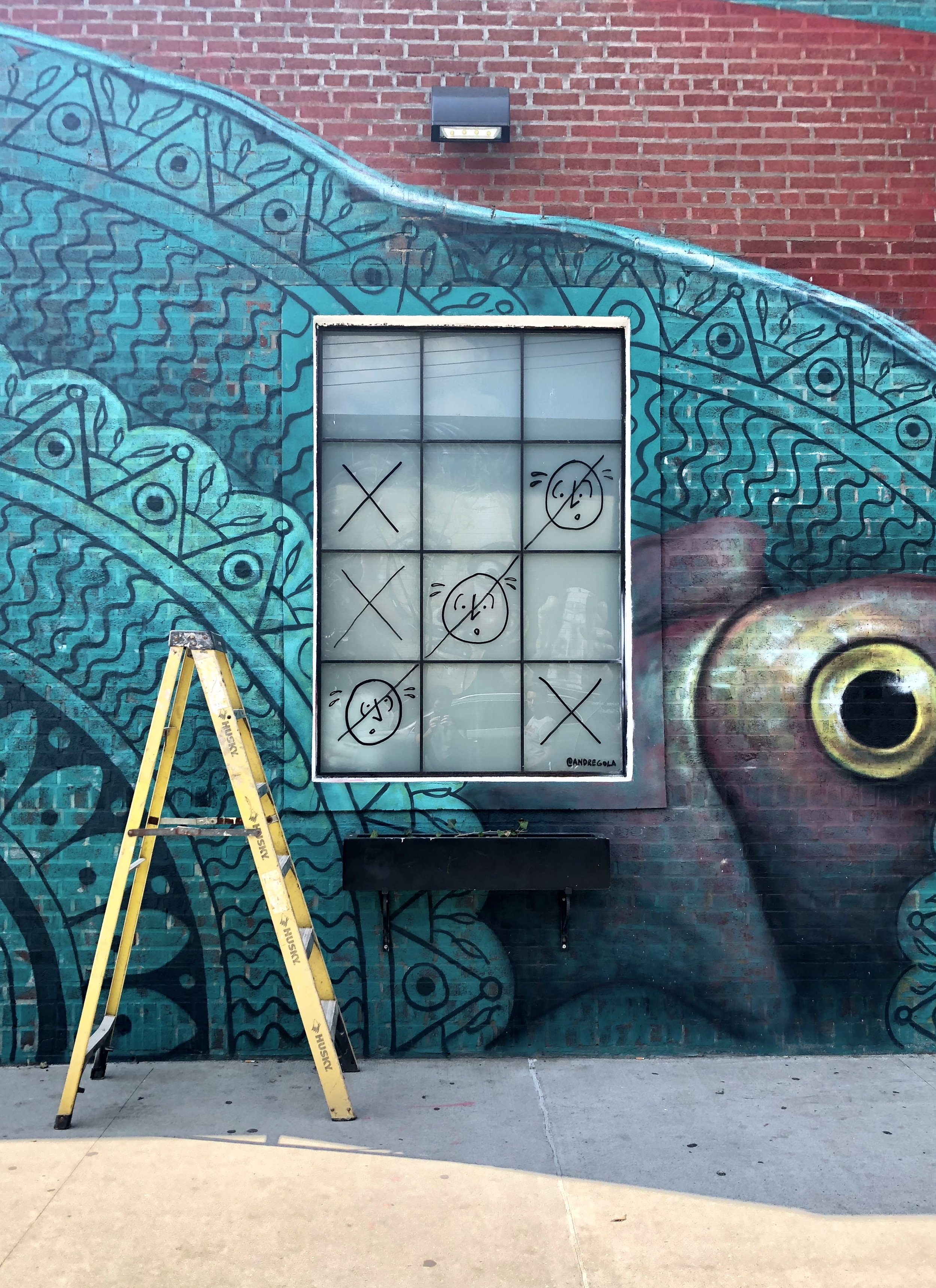 """Tic Tac Toe 01"", Bushwick, Brooklyn, NY, 2018"