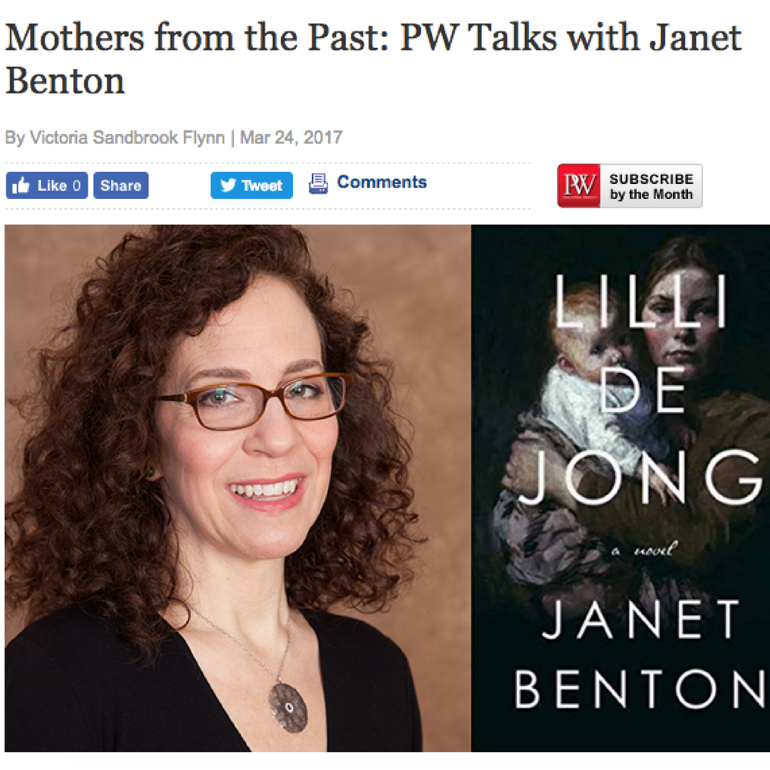 Publishers Weekly   Interview by Victoria Sandbrook Flynn