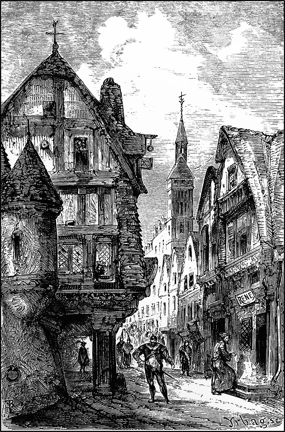 The shop of René Le Florentin — First perfumer of Paris