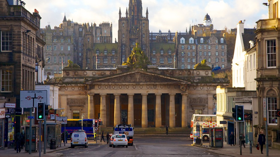 CLASSICAL ARCHITECTURE IN EDINBURGH