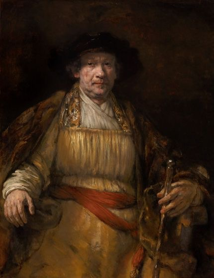 Rembrandt, <i>Self-Portrait</i>, 1658