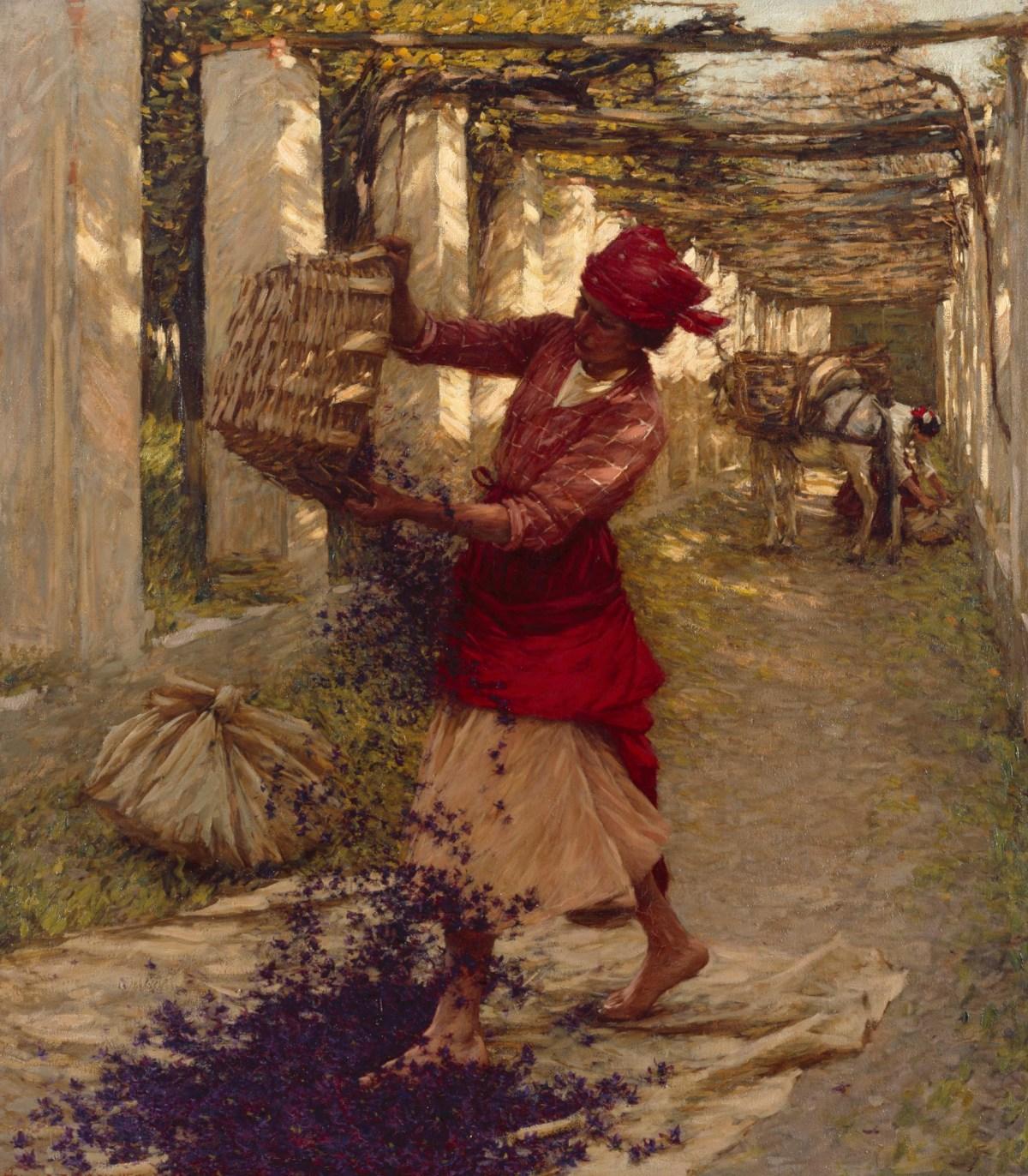 Violets for Perfume,  Henry Herbert La Thangue RA