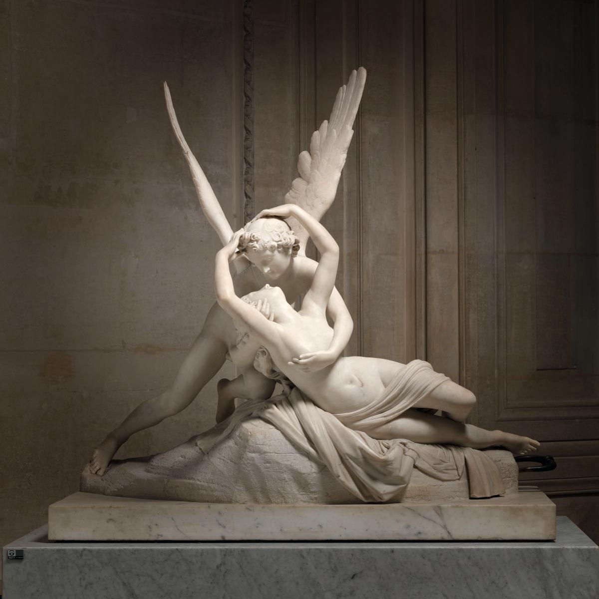 Cupid and Psyche, Antonio Canova