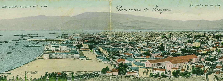 Panorama of smyrna, circa 1900