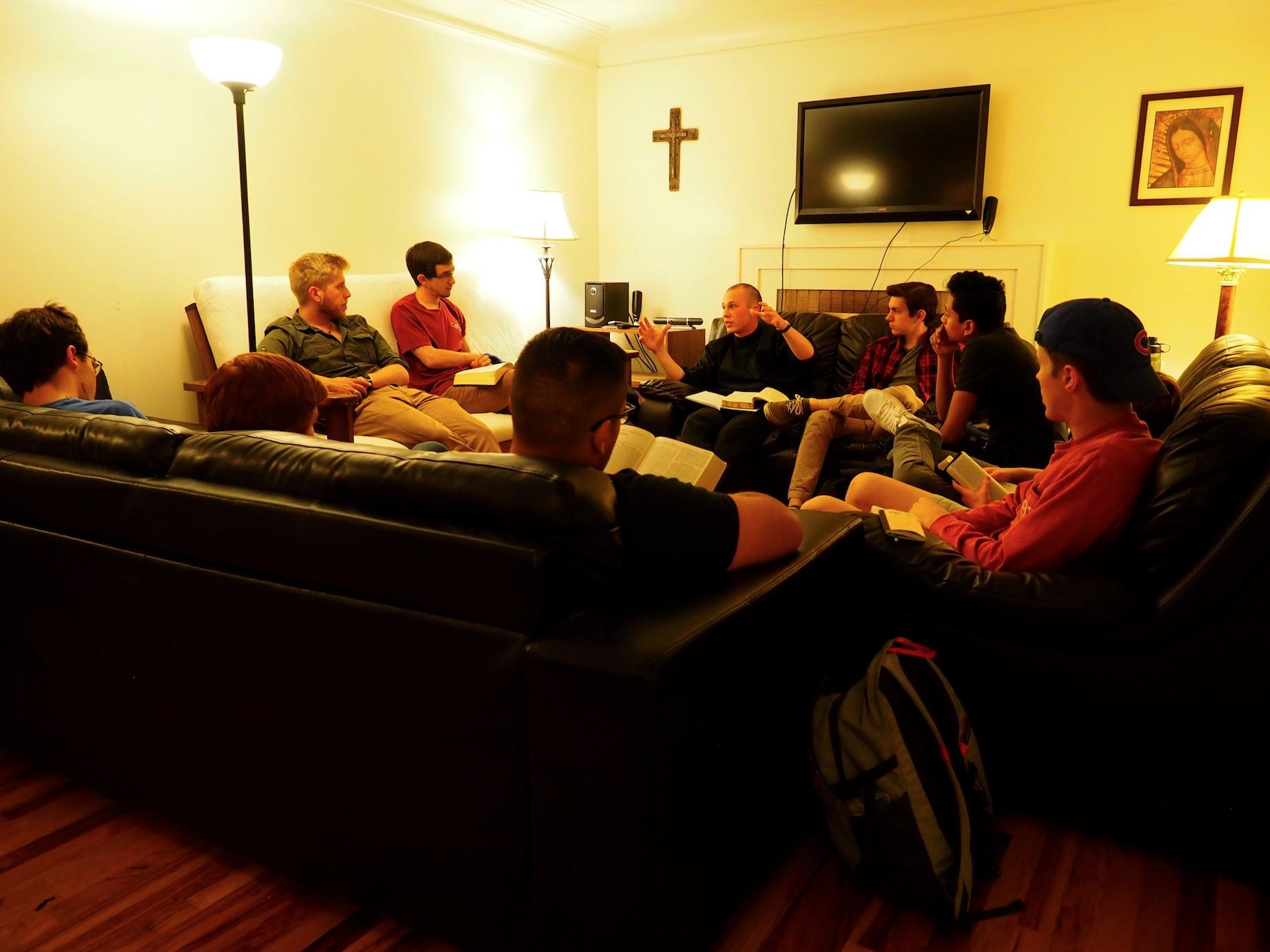 Men's Bible Study, 2017