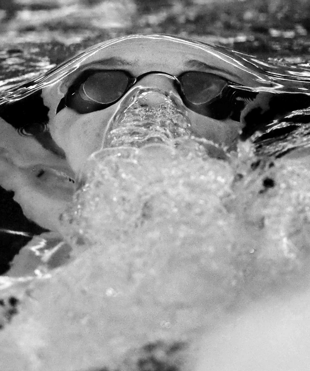 Kiski's Josh Madzy competes in the 200-yard medley during the WCCA swimming championship on Saturday, Jan. 30, 2016 at Derry Area High School.