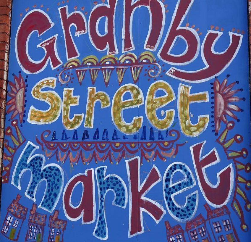 Granby Street Market Painting