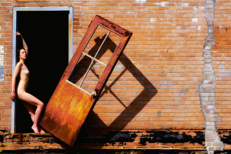 Falling Door