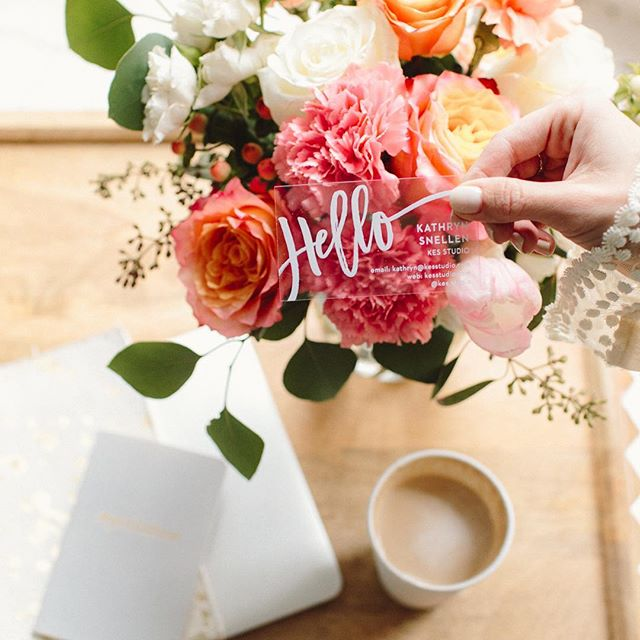 Hello, spring! 💐 Excited for all that this new season will be bring. | flowers by @everwild_florals, photo by @ruthiestarkphotography, biz cards by @basicinvite & hustle by @thekathrynelise #strategyandstyle #kcbiz #shopkc #kclocal #kcsmallbusiness