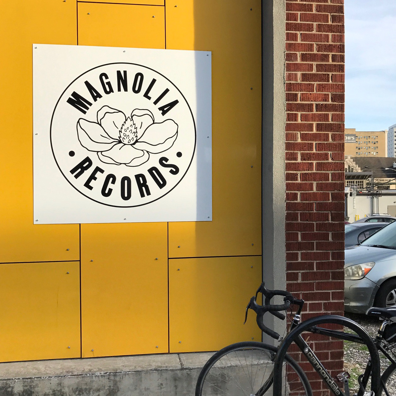 Logo designed by S. Shebaro for Magnolia Records - Knoxville TN