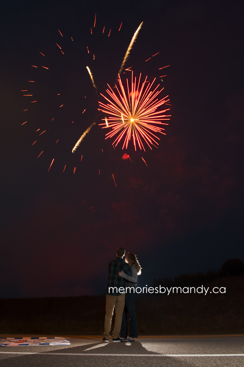 **All off these images are from the Canada Day fireworks here in Saskatoon.
