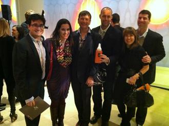 Alan Barlis, Annie Block (Interior Design), Dennis Wedlick, Brian Marsh, Elaine Santos, and Joe Olson at ID's BOY Awards Party
