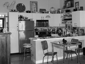"""'Before"""" photo of this South End kitchen."""