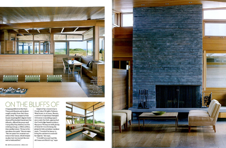 Boston Home, Spring 2013. KR+H built the kitchen, kitchen tables, beds, and side tables for this home on Martha's Vineyard.