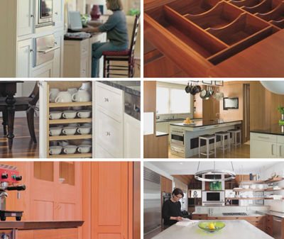 Images from KR+H's video, Kitchens.
