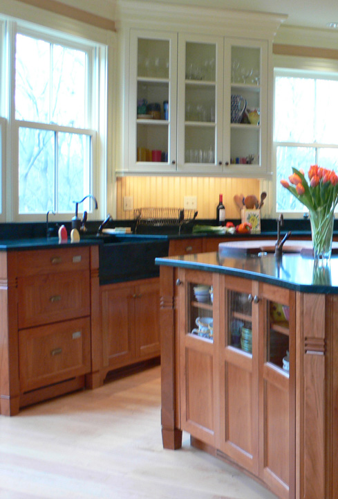 KR+H designed and crafted this kitchen on The Newton House Tour.