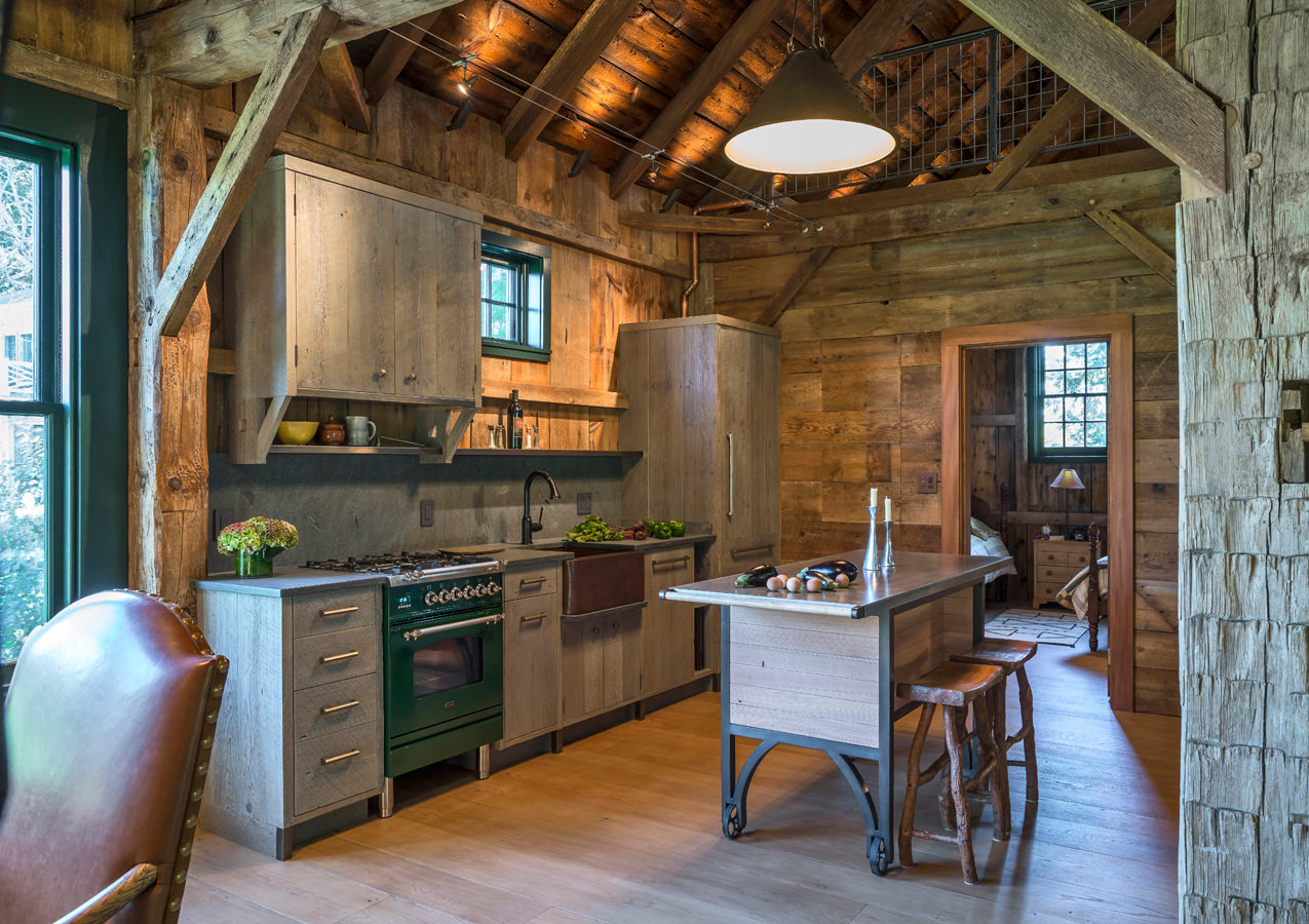 Sandy Pond Barn Small Kitchen