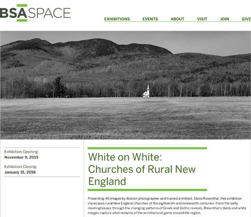 White on White   is at The BSA Space,290 Congress Street, Boston, through January 31, 2016.