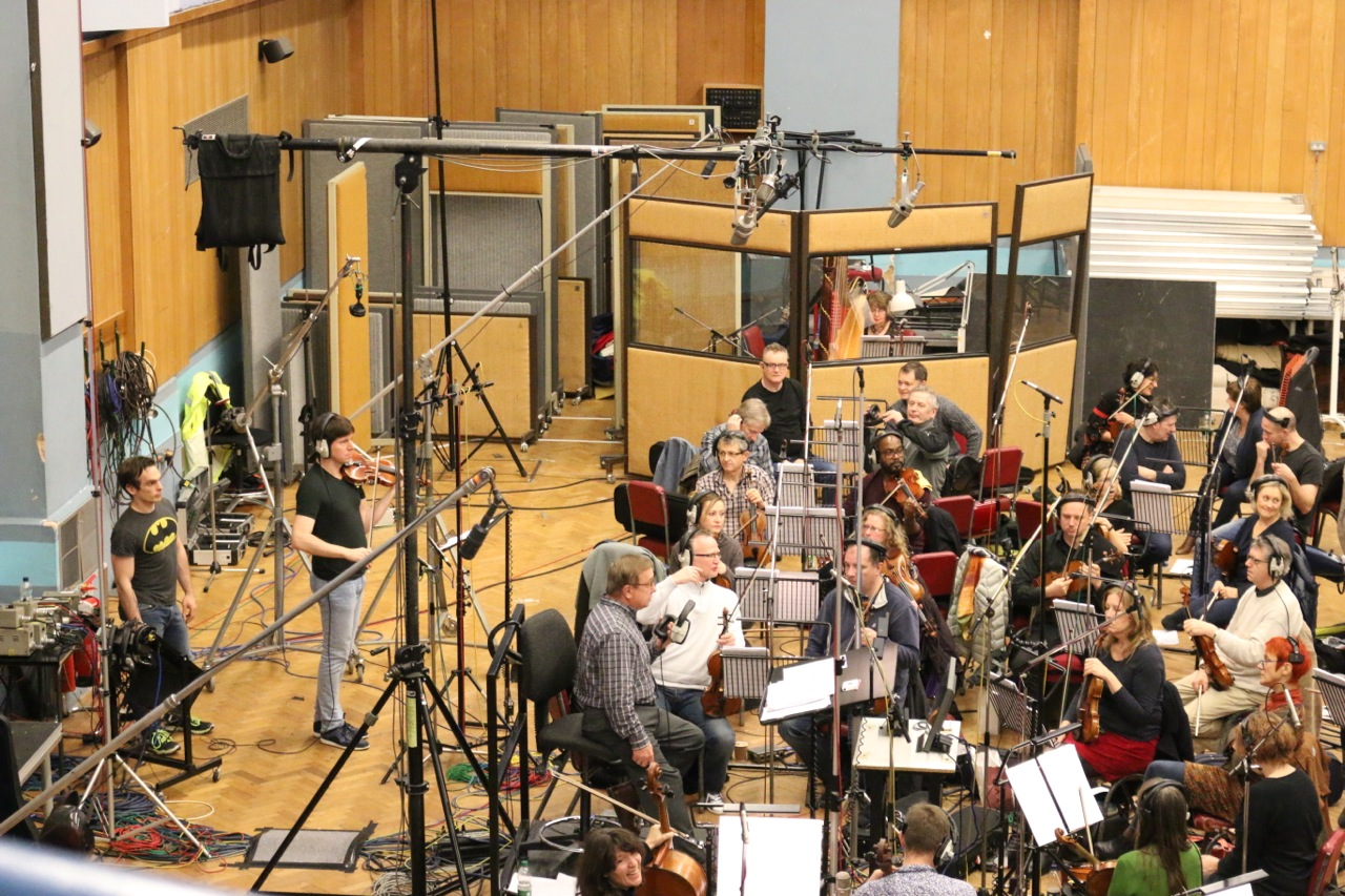 Abbey Road studio with Joshua Bell