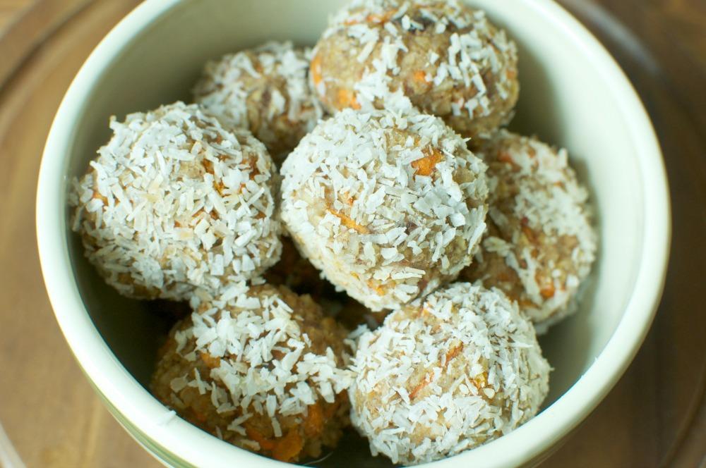 Carrot Cake Balls two