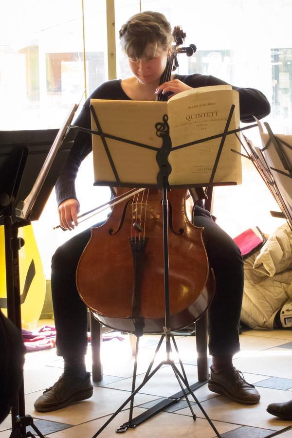 Classical Revolution performer, Tori Rogers