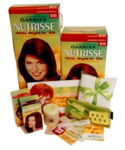 Nutrisse Girl's Night In Kit - click to enlarge