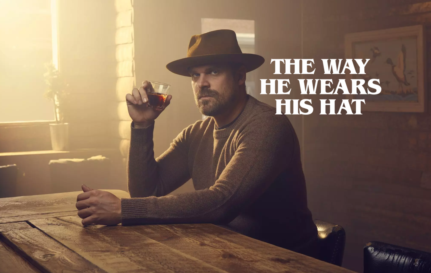 David Harbour for The Wrap