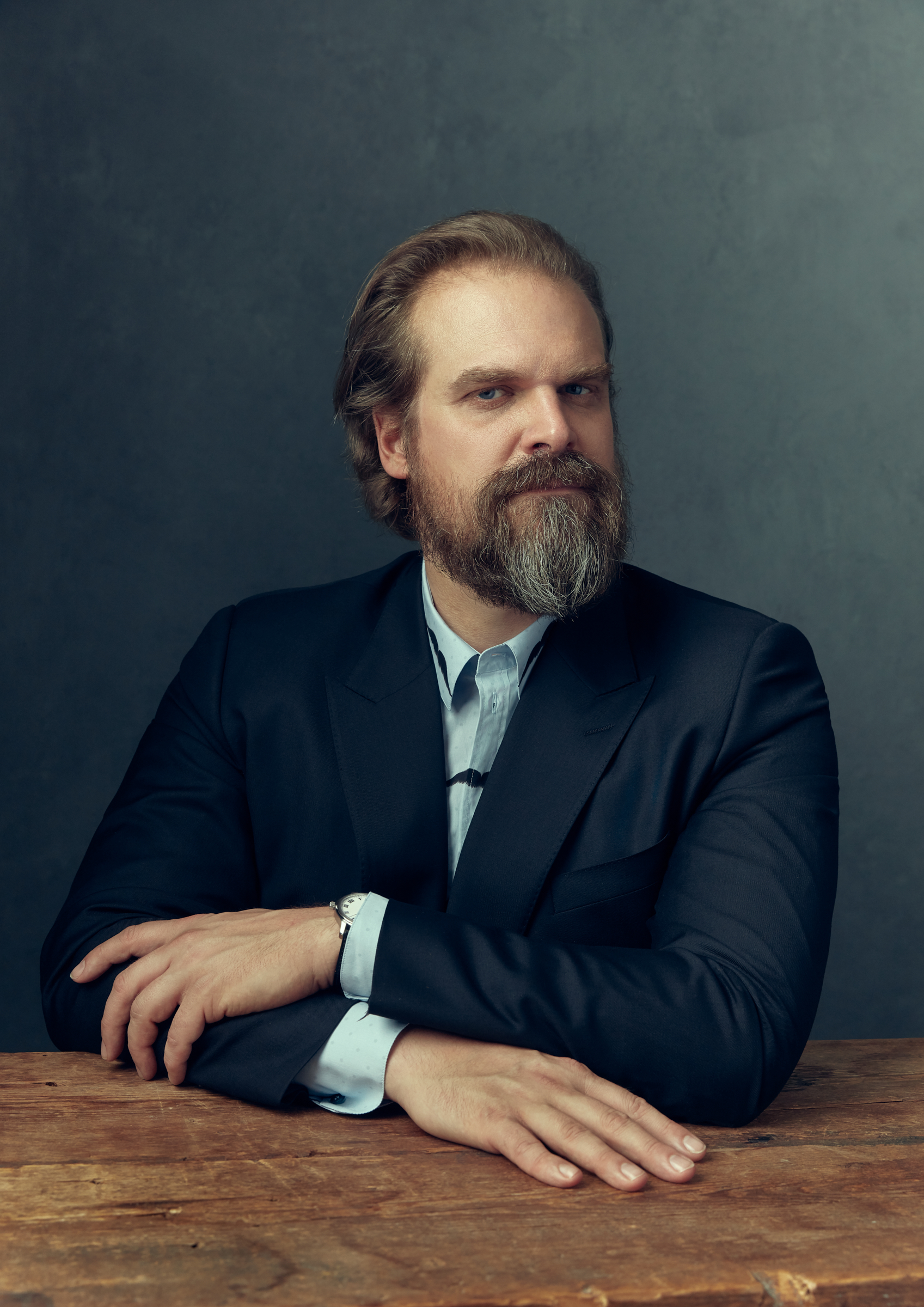 David Harbour for GQ Mexico