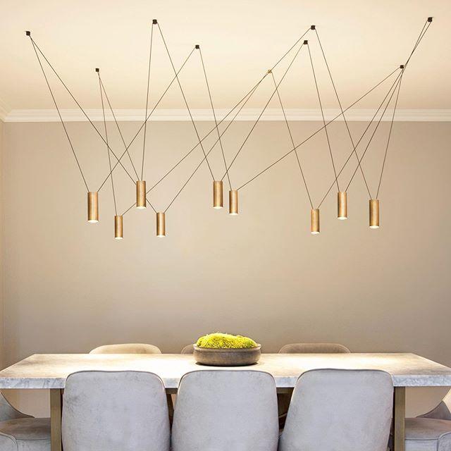 Need Balance in your life?  Balance in Bronze! #pendantlights #bronze #balance #balancelight #orangecounty #ledlight #adjustable #lightingdesign