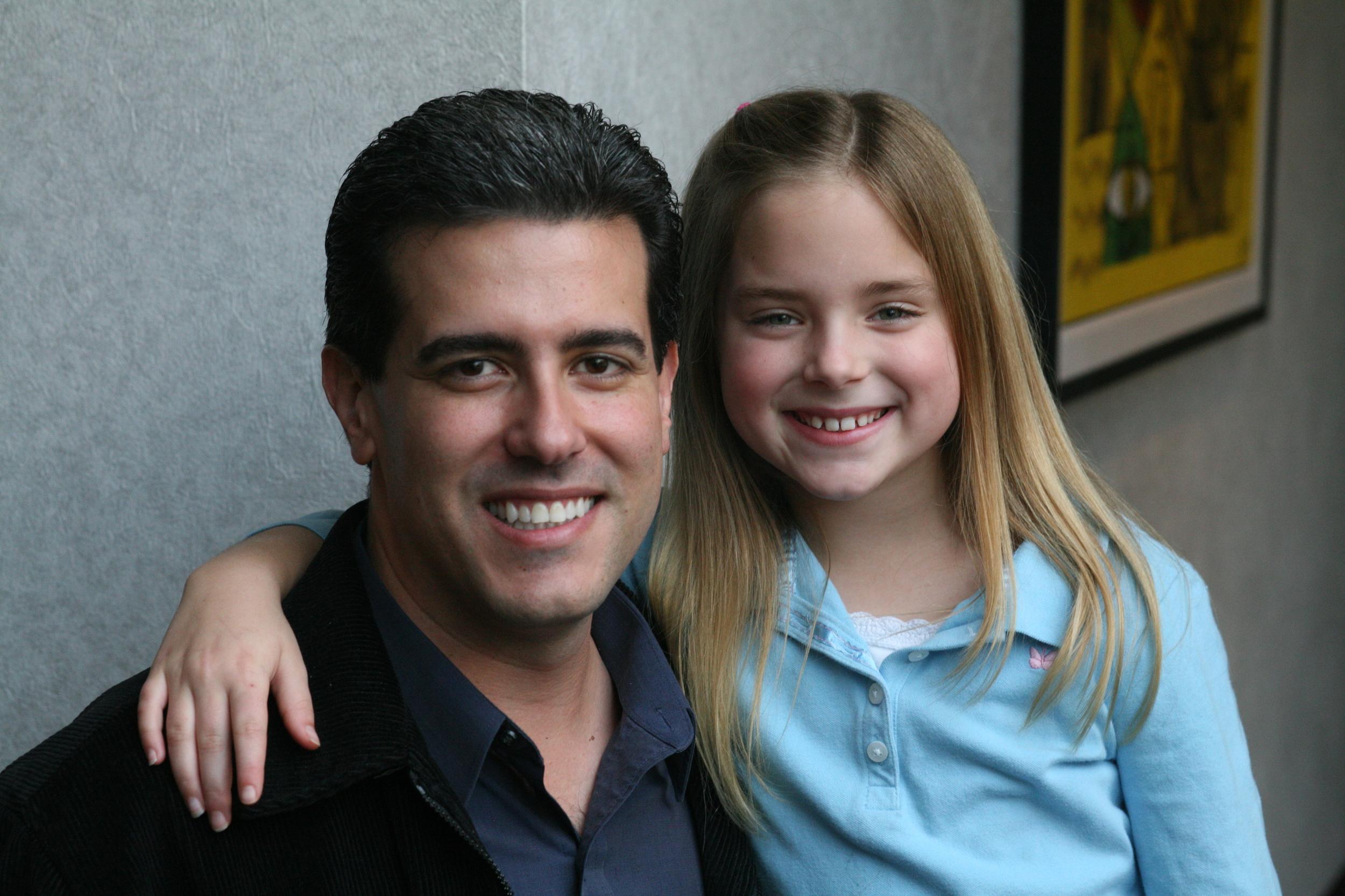 Robert Zappia (Writer, Director, Producer) and Madison Davenport (Sophianna)
