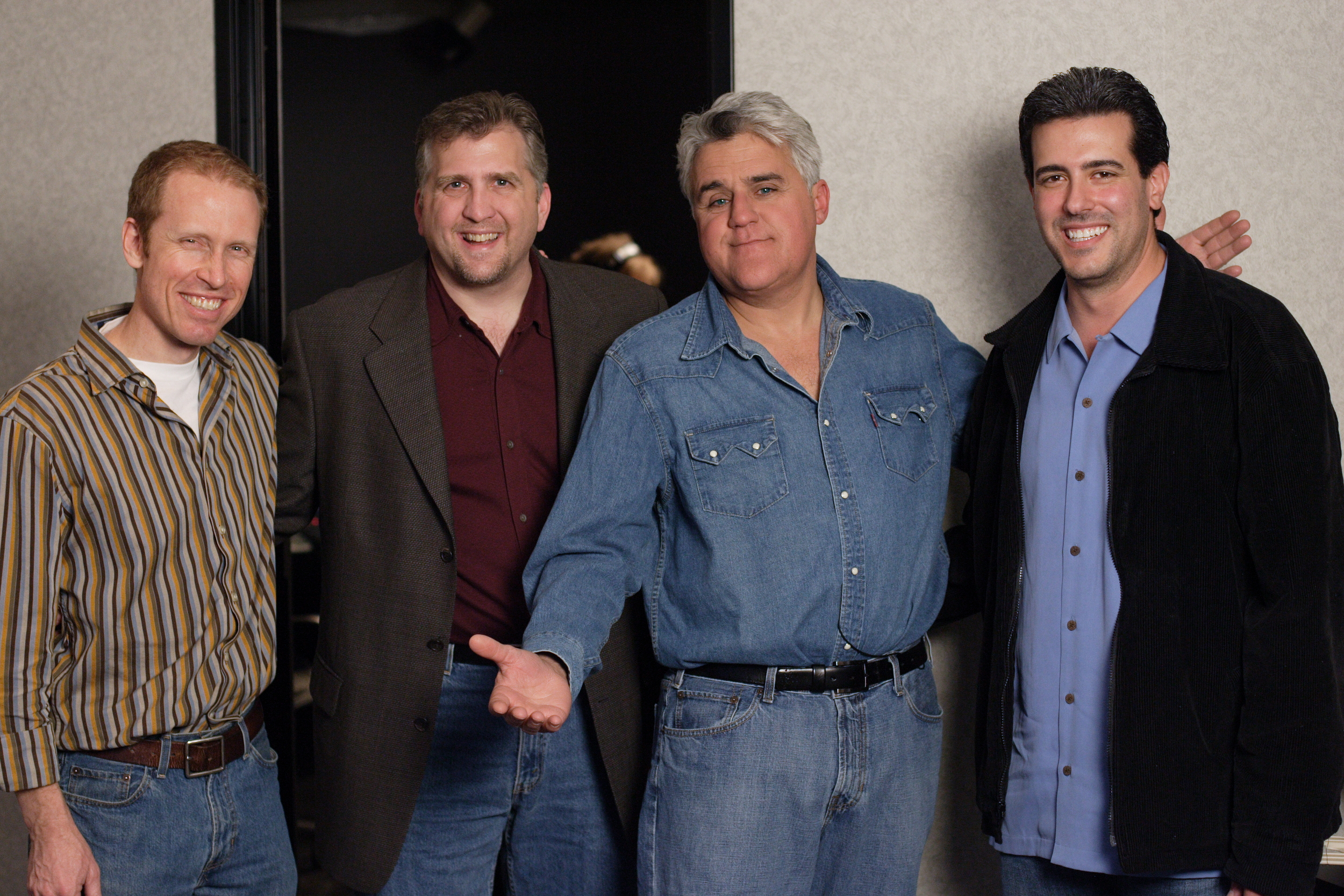 Jim Praytor (Producer), Daniel Roebuck (Paul Rocco), Jay Leno (Narrator) and Robert Zappia (Writer, Director, Producer)