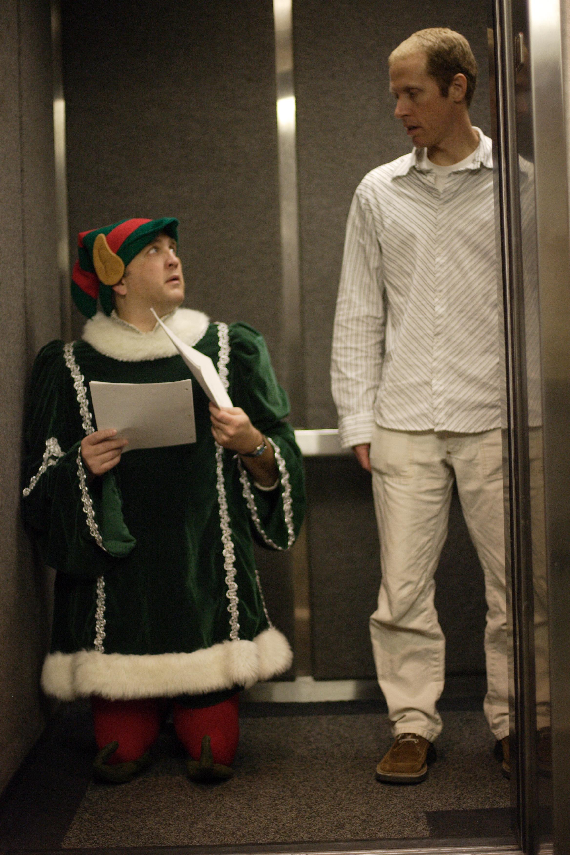 Method actor, Daniel Roebuck, with producer, Jim Praytor.