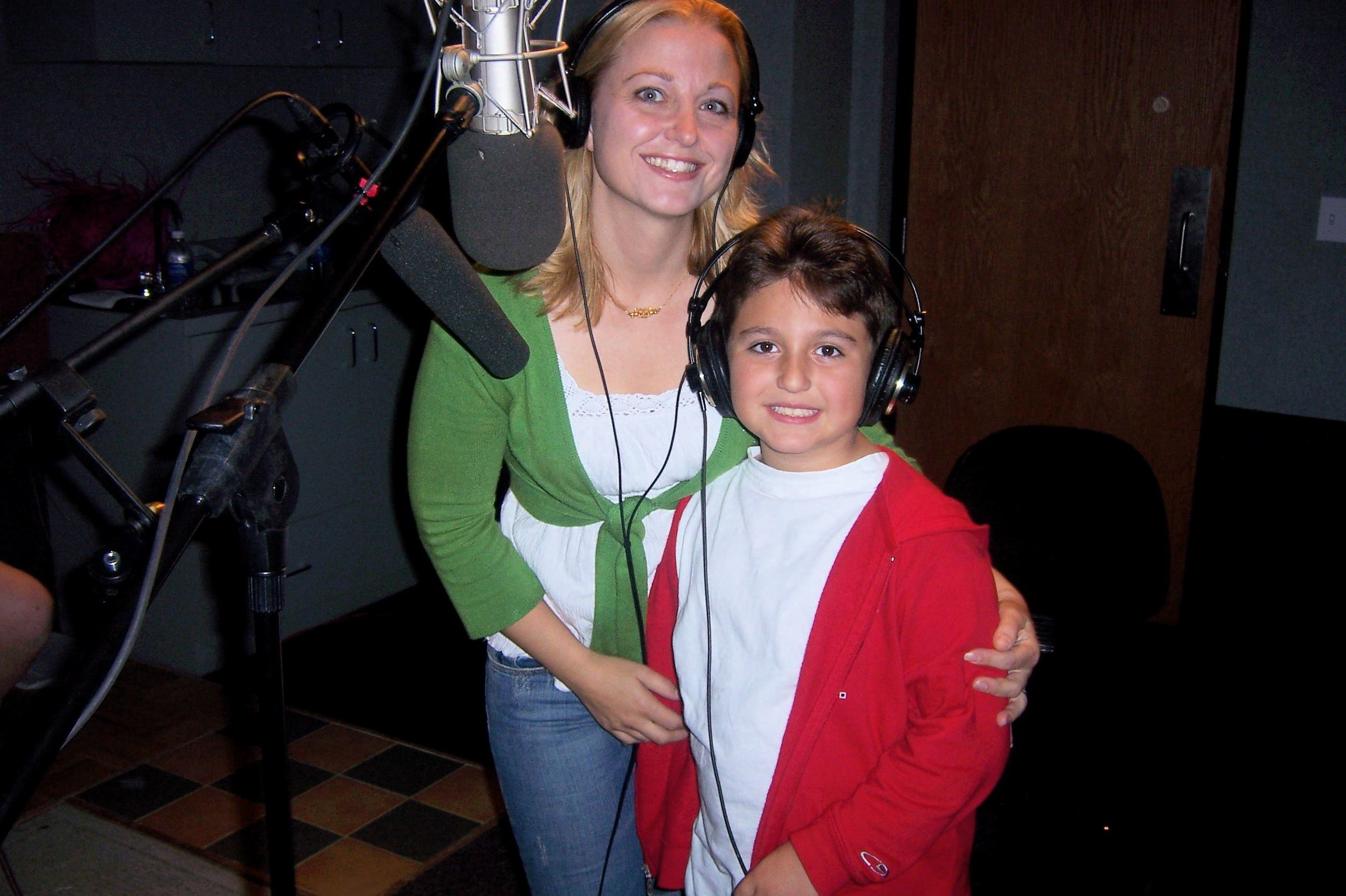 Pamela Zappia (Violet) and Paul Zappia (Mitchell/Orphan 'Price')