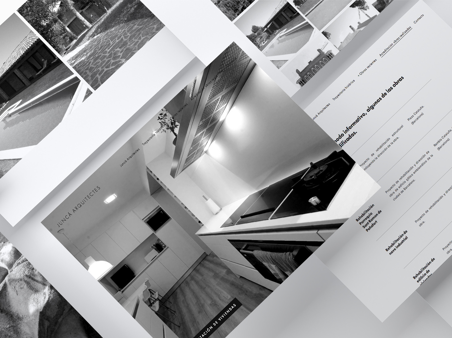 Juncà Arquitectes - #web #UX/UI